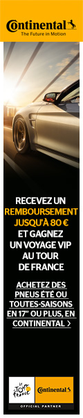 Promo Continental Cash Bach+Tour de France
